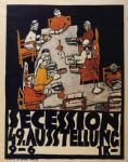 forty ninth secession exhibition poster by egon schiele art