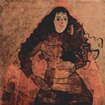 egon schiele portrait of trude engel paintings