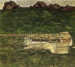 egon schiele sawmill painting