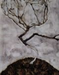 egon schiele small tree in late autumn paintings