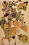 sunflower original paintings - sunflowers ii by egon schiele
