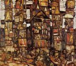 woodland prayer by egon schiele painting