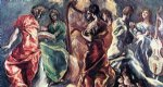 angel acrylic paintings - angelic concert by el greco