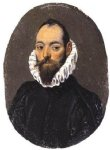 el greco portrait of a man iii painting-34369