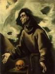 saint francis receiving the stigmata by el greco art