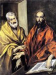 el greco saints peter and paul painting 34382