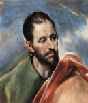 study of a man by el greco art
