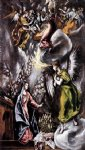 el greco the annunciation 6 painting