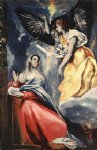el greco the annunciation 7 painting