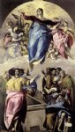el greco the assumption of the virgin painting