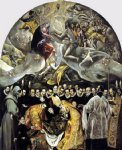 the burial of the count of orgaz by el greco watercolor paintings