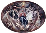el greco the coronation of the virgin painting