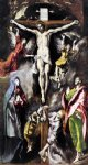 the crucifixion by el greco watercolor paintings
