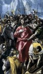 the disrobing of christ el espolio ii by el greco watercolor paintings