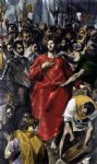 el greco the disrobing of christ el espolio painting