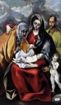 el greco the holy family iv painting
