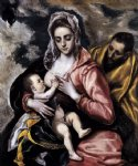 el greco the holy family painting
