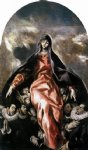 el greco the madonna of charity painting