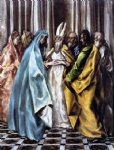 el greco the marriage of the virgin ii painting