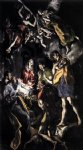 the marriage of the virgin by el greco watercolor paintings