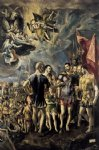 el greco the martyrdom of st maurice art