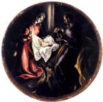 el greco the nativity painting