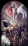 el greco the resurrection ii painting