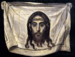 the veil of st veronica by el greco painting