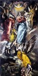 the virgin of the immaculate conception by el greco painting