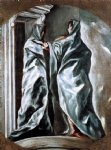 the visitation by el greco painting
