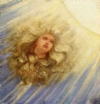 soul of the sunflower by elihu vedder painting