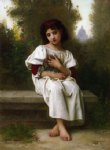 elizabeth jane gardner bouguereau artwork - in the garden by elizabeth jane gardner bouguereau