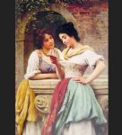 eugene de blaas watercolor paintings - shared correspondance by eugene de blaas
