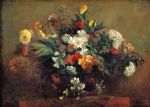 flowers by eugene delacroix painting