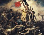 eugene delacroix print - liberty leading the people by eugene delacroix