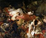the death of sardanapalus by eugene delacroix posters