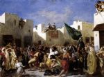 the fanatics of tangier by eugene delacroix posters