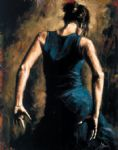 flamenco ii by fabian perez oil paintings