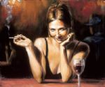 selling acrylic paintings - selling pleasures by fabian perez