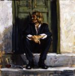 fabian perez waiting for the romance to come prints