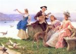 a day s outing by federico andreotti painting