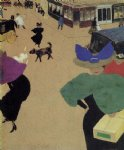 felix vallotton art - a street by felix vallotton
