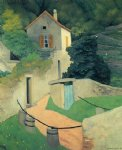 felix vallotton art - a vallon landscape by felix vallotton