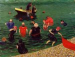 bathing by felix vallotton acrylic paintings