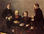 the five painters by felix vallotton acrylic paintings