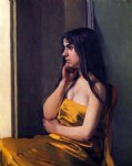 the yellow sheet by felix vallotton paintings