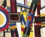 fernand leger artwork - railway crossing by fernand leger