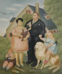 a family by fernando botero paintings