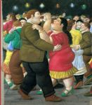 dancers 2002 by fernando botero painting