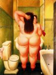 el bano by fernando botero paintings